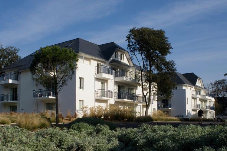Frankrijk | Cote-Atlantique | Appartement te huur in Pornichet met zwembad  met wifi 5 personen