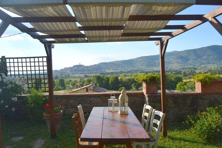 CASTIGLION-FIORENTINO Vakantiewoningen te huur Mooie vakantiewoning in de heuvels van Castiglione Fiorentino.