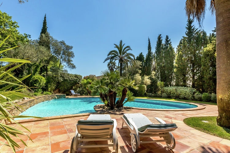 Villas Frankrijk | Provence-alpes-cote-d-azur | Villa te huur in Grimaud met zwembad  met wifi 12 personen
