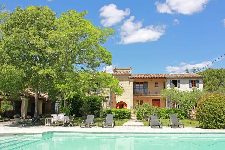 Villa Frankrijk, Languedoc-roussillon, Uzège (région Uzès) Villa FR-02973-01