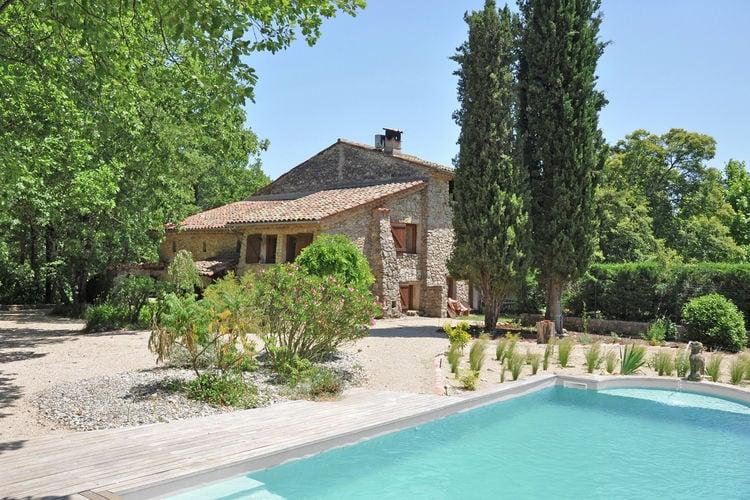Fayence Vakantiewoningen te huur Fijn vakantiehuis met privézwembad, omringd door natuur en dieren!