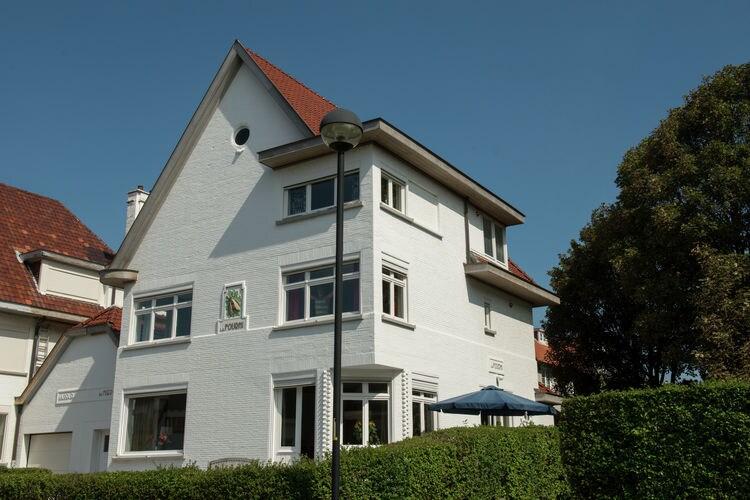 Villa  met wifi aan zee West VlaanderenVilla Schelp en Strand