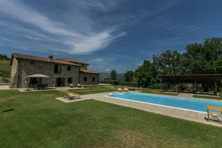 Vakantiehuizen Italie | Toscana | Vakantiehuis te huur in Poppi met zwembad  met wifi 6 personen