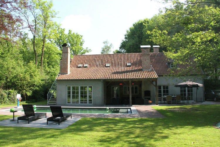 Aalter Vakantiewoningen te huur Villa Brugge en Gent 18 pers