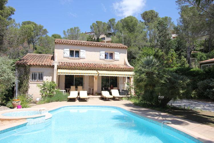Villa met zwembad met wifi  Saint-Raphaël  La Belle Fleur