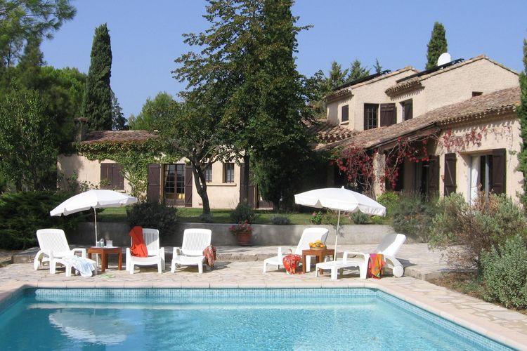 Villa huren in  - met zwembad nabij Strand met wifi met zwembad voor 10 personen  Te midden van de wijngaarden van P..