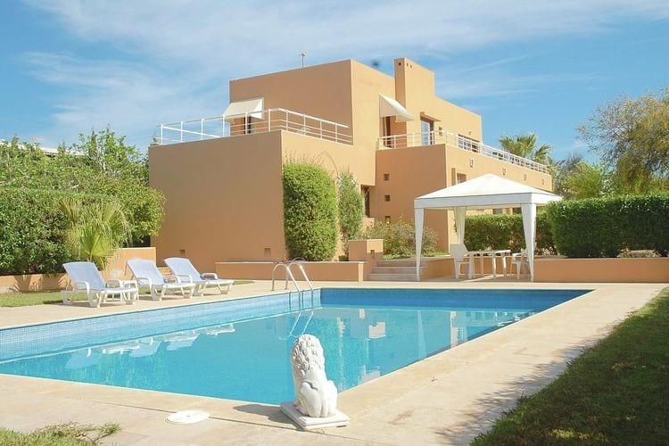 Villa met zwembad met wifi  Ibiza-City  Can Cifre 6-pers