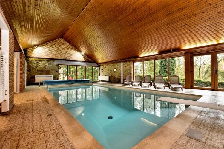 Belgie | Luxemburg | Villa te huur in Grandhan-durbuy met zwembad  met wifi 10 personen
