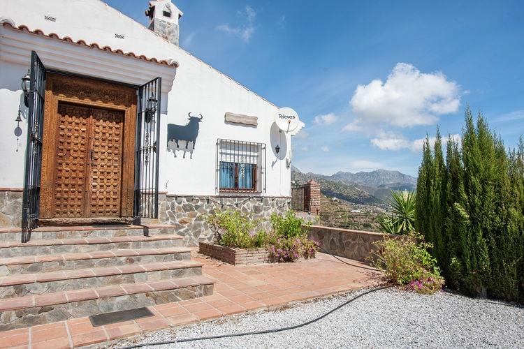 Vakantiehuizen Spanje | Costa-del-Sol | Vakantiehuis te huur in Competa met zwembad  met wifi 8 personen