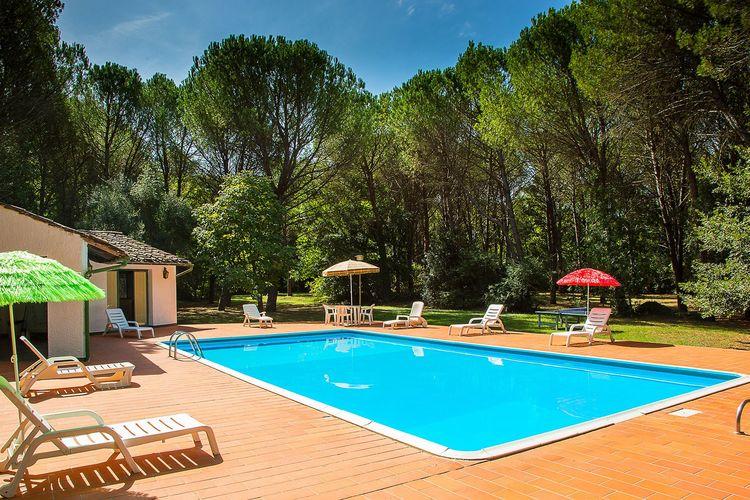 Vakantiehuizen Italie | Toscana | Vakantiehuis te huur in Montecatini-Val-di-Cecina met zwembad   8 personen