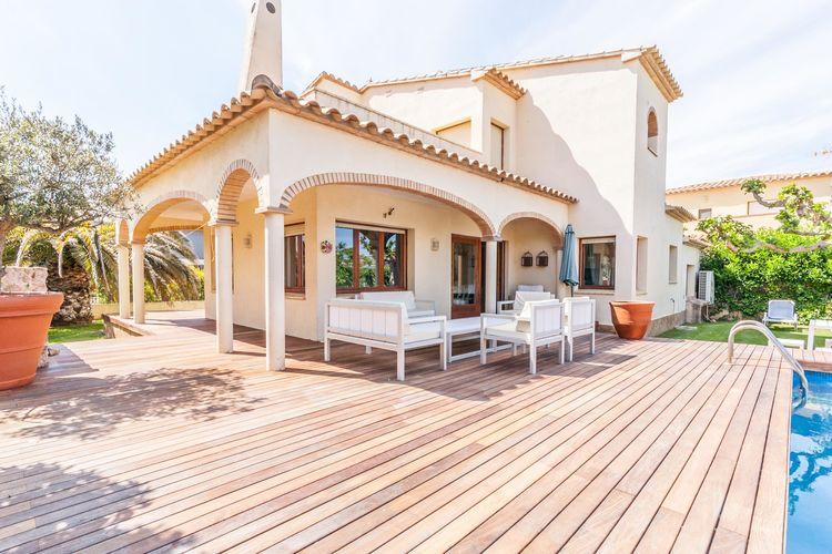 Spanje   Costa-Brava   Villa te huur in Sant-Pere-Pescador met zwembad  met wifi 8 personen