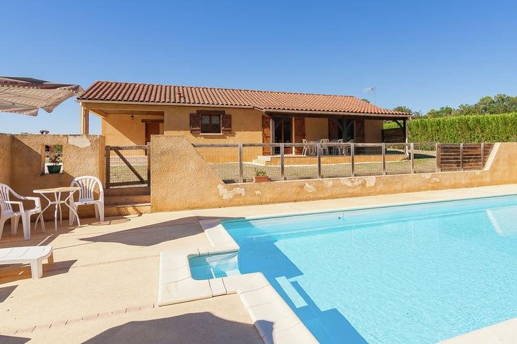 Frankrijk | Dordogne | Vakantiehuis te huur in Masclat met zwembad   6 personen