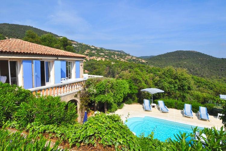 Vakantiehuizen Frankrijk | Provence-alpes-cote-d-azur | Villa te huur in La-Londe-Les-Maures met zwembad  met wifi 8 personen