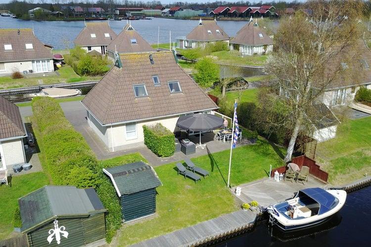 Vakantiehuizen Nederland | Friesland | Vakantiehuis te huur in Earnewald   met wifi 8 personen