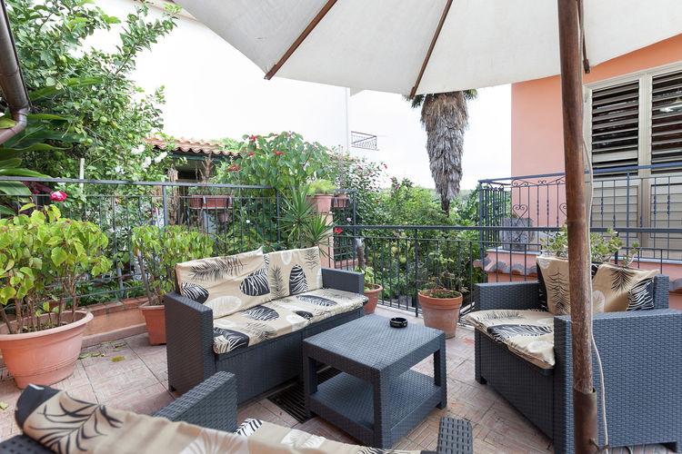 Taormina-Messina Vakantiewoningen te huur La casa di Marta