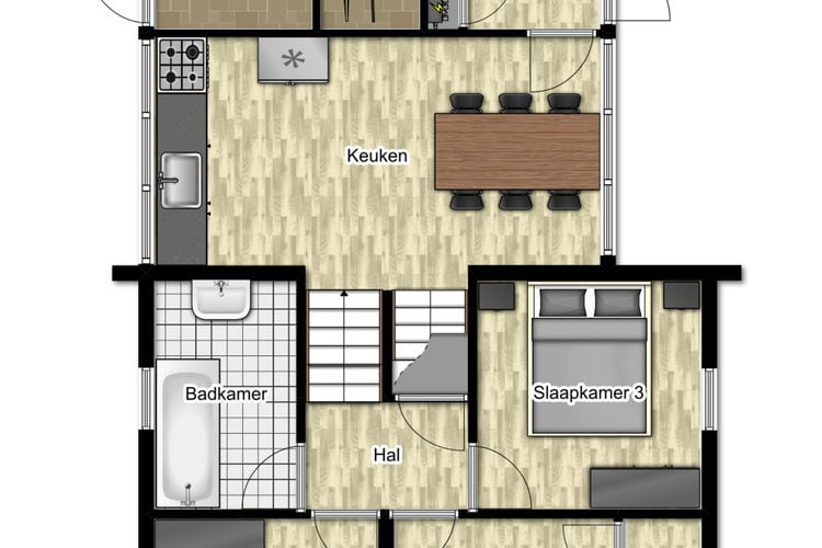 Ref: NL-3907-01 3 Bedrooms Price