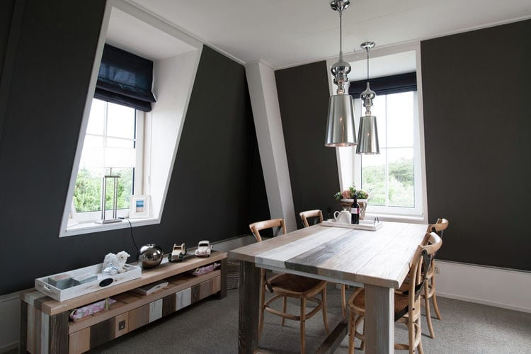 Holland | Wad Islands | Holiday home Kust en Stijl Penthouse I | all year | DiningRoom
