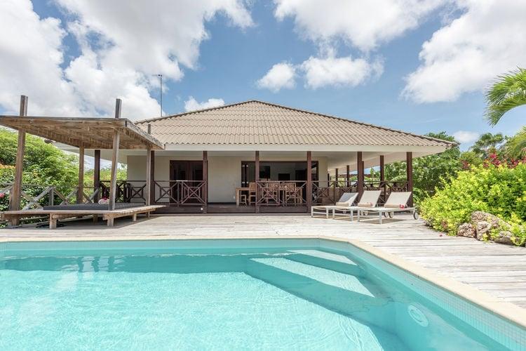 Villa huren in  Curacao - met zwembad nabij Strand met wifi met zwembad voor 6 personen  Villa Azzurra is een heerlijke tro..