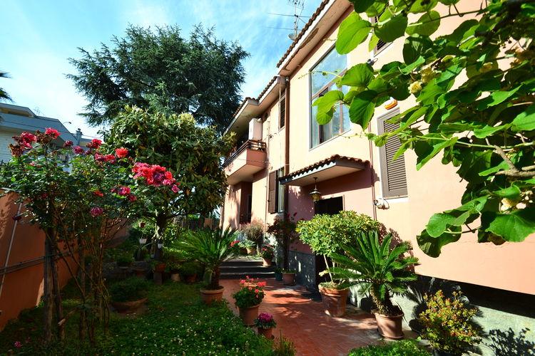 Vakantiehuis  met wifi  Pompei  Casa Rosada