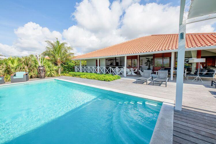 Vakantiehuizen  Curacao te huur Jan-Thiel- CW-00064-01 met zwembad  met wifi te huur