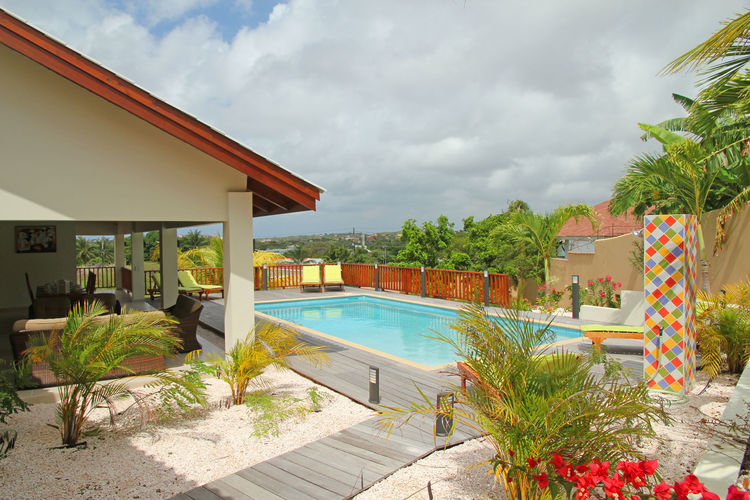 Vakantiehuizen  Curacao te huur Bottelier- CW-00089-01 met zwembad  met wifi te huur