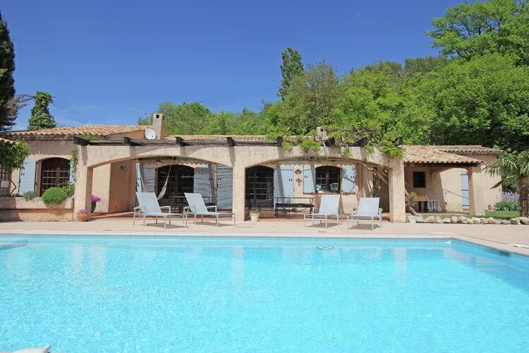 Vakantiewoning met zwembad met wifi  Salernes  Mas la Baouque