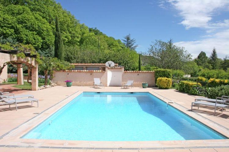 Vakantiehuizen Frankrijk | Provence-alpes-cote-d-azur | Vakantiehuis te huur in Salernes met zwembad  met wifi 10 personen