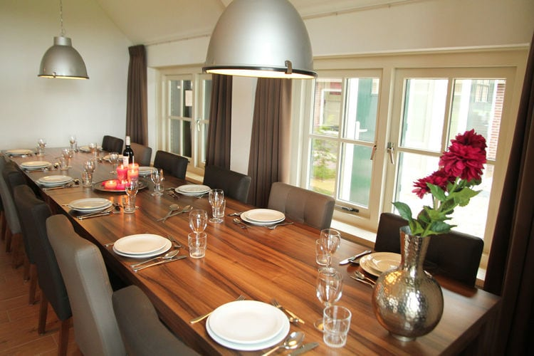 Holland | Gelderland | Holiday home De Hertenhoeve 36 pers | all year | DiningRoom