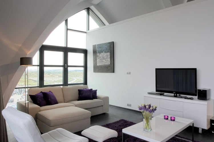 Holland | North Sea Coast North | Holiday home Beach Style Bloemendaal - Penthouse | all year | LivingRoom