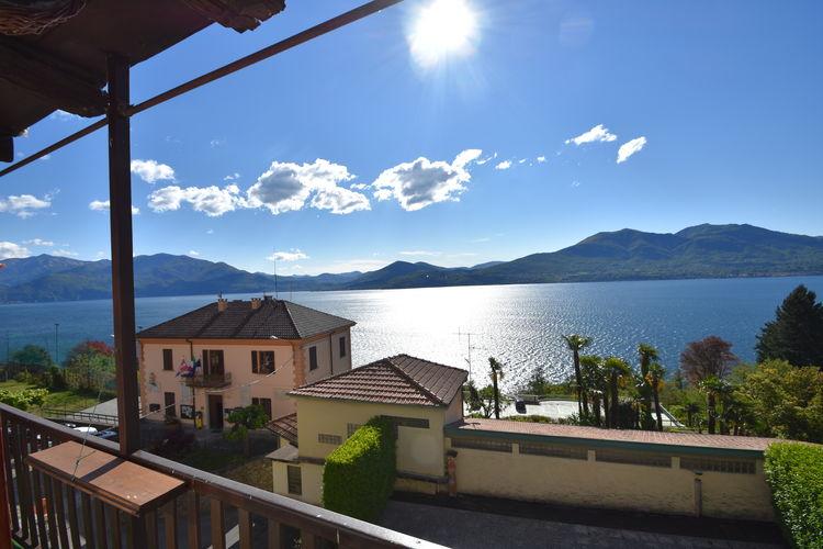 Vakantiehuizen Italie | Italiaanse-Meren | Appartement te huur in Oggebbio    4 personen
