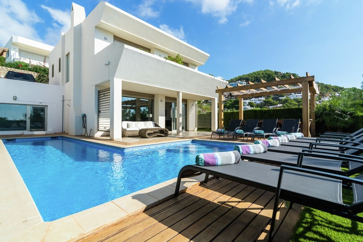 Ibiza Villas te huur Villa met alle comfort, dichtbij het strand en Ibiza stad