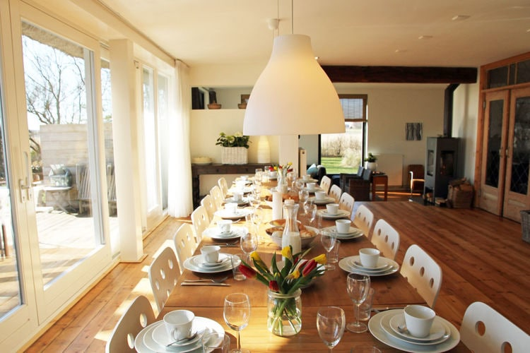 Holland | North Sea Coast North | Holiday home Landhuis Duinzicht | all year | DiningRoom