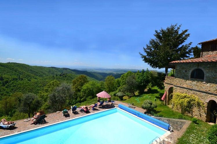 Vakantiehuis met zwembad met wifi  Gaiole in Chianti  Giulitta