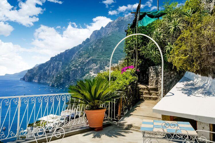 Vakantiehuizen Italie | Campania | Vakantiehuis te huur in Positano   met wifi 4 personen
