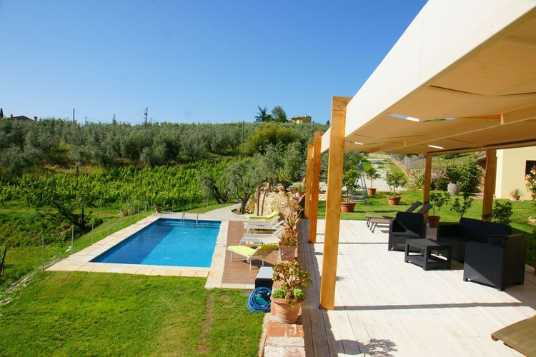 Vakantiehuizen Italie   Toscana   Vakantiehuis te huur in Vinci-Florence met zwembad  met wifi 6 personen