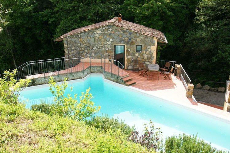 Vakantiewoning met zwembad met wifi  Vinci  Klein maar fijn, dit verrukkelijke
