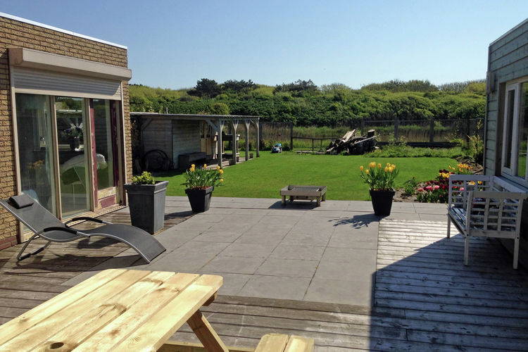Holland | North Sea Coast North | Holiday home Eb en Vloed | all year | ExteriorSummer