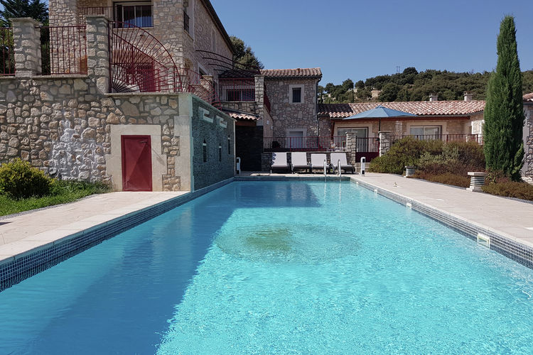Villa Frankrijk, Languedoc-roussillon, Saint-Ambroix Villa FR-30500-28