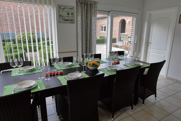 vakantiehuis België, Limburg, Haren-Borgloon vakantiehuis BE-3840-02