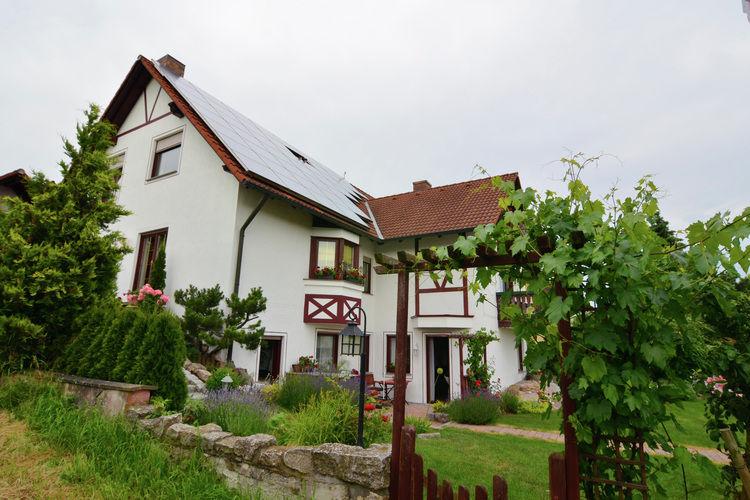 Duitsland | Beieren | Vakantiehuis te huur in Zeil-am-Main   met wifi 3 personen