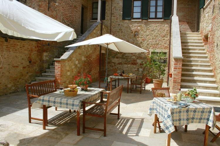 Vakantiehuizen Italie | Toscana | Boerderij te huur in Asciano met zwembad  met wifi 3 personen