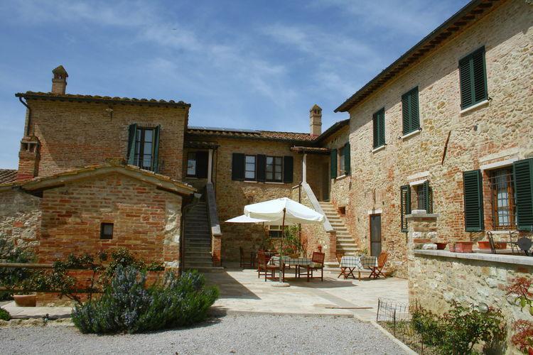 Boerderij Italië, Toscana, Asciano Boerderij IT-53041-14