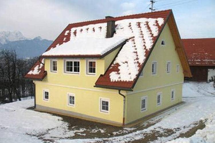 Kaernten Vakantiewoningen te huur Recentelijk gerenoveerde boerderij met rustige ligging en geweldig uitzicht