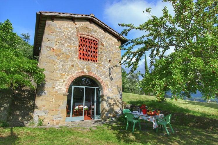 Toscana Vakantiewoningen te huur Prachtig vrijstaand huisje met panoramisch uitzicht
