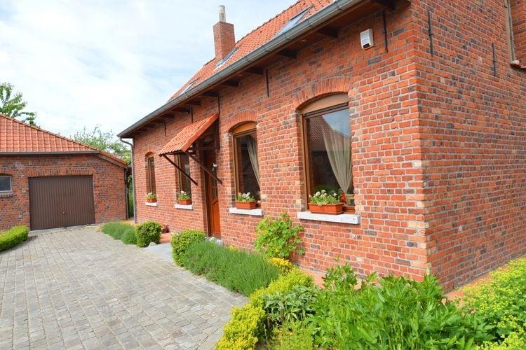 Woning Belgie | West-Vlaanderen | Vakantiehuis te huur in Le-Bizet   met wifi 8 personen
