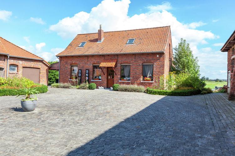 vakantiehuis België, West Vlaanderen, Le Bizet vakantiehuis BE-7783-01
