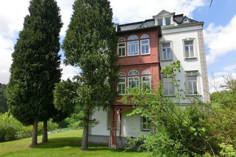 Villa  met wifi  Grunhainichen-Borstendorf  Exclusief appartement in het prachtige Ertsgebergte met serre en villapark