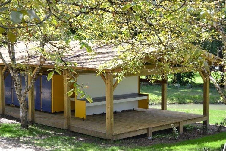 Maison de vacances Komfortables Holzhäuschen in der Dordogne (809207), Pineuilh, Gironde, Aquitaine, France, image 10