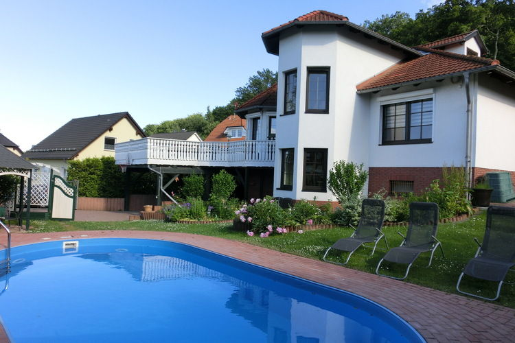 Duitsland | Berlijn | Villa te huur in Ballenstedt met zwembad  met wifi 8 personen