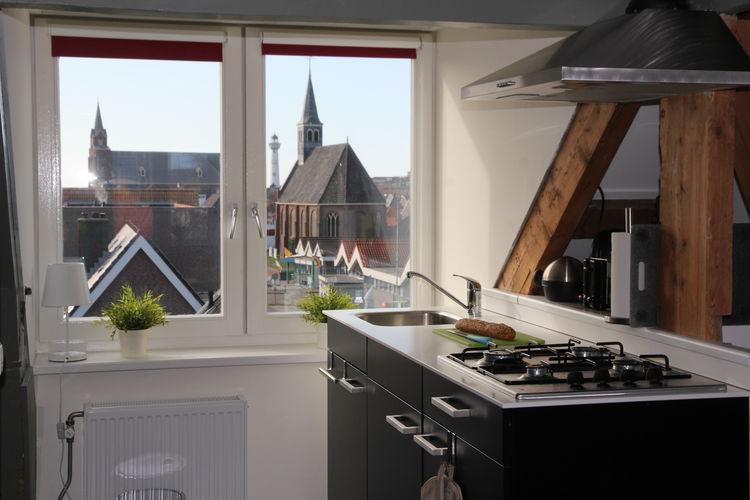 Appartement  met wifi  Noord-HollandCosy Egmond Studio 4 pers